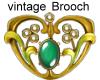 N*3 vintage Brooch