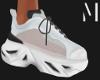 T+M   Black Sneakers