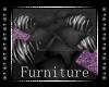 +P+ Purple Zebra Pillows