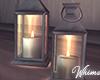 Black Rain Candles