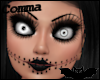 , Creepy Doll Head