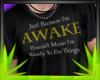 ✿| Awake Shirt M