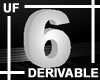 UF Derivable Digit 6
