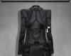 Leather dress.