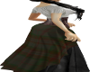 *MCA*Gray Tartan Dress