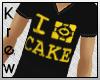 K | I Love Cake V-Neck