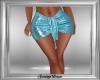 Blue Glitter Skirt