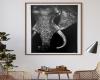 Elephant Wall Art Canvas