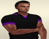 Black Purple Polo