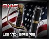 AX - USMC Enlisted Sabre