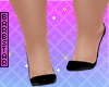 lu*black heel sandal