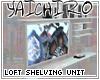 Loft Shelving Unit