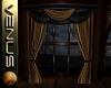 ~V~ Black & Gold Curtain