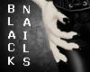 Pvc Black Nails