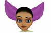 Purple Furry Ears