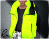 Neon Puff Coat