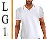LG1 White Polo
