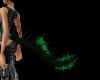 green&black tail