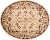Pretty Cream round rug