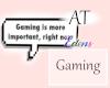 AT Gaming Bubble