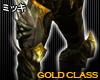 ! Elf Armour Bottom#Gold