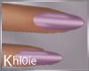 K purple nails