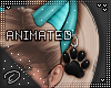 !D! Oh My Paw Ears Teal