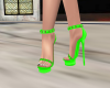 Elegant Lime Green Heels