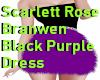 Scarlett BlackPurp Dress