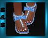 S&S Kids Blue Sandals
