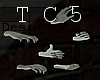 Zombie hands animated