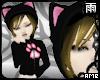 Paw Kitty Hoodie Blonde