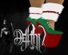 candy christmas heels