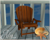 Ocean Blue Deck Chair 2