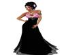 *BratZ-Black/Pink Gown*