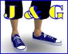 Blue Converse Type
