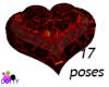 lava bed heart shape