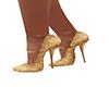 ~N~ Vintage Gold Shoes