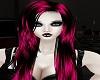 Long Pink & Black Hair