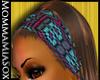 Beaded Headband Brn Amal