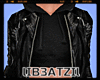B! Leather Jacket Black