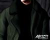 Green Jacket Turtleneck