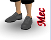 Mec gray formal shoes