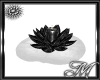 Black / Silver Candle