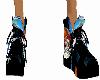 (F) dragon shoes yin yan