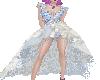 Blue Magnolia Gown