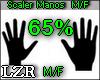 Scaler Manos 65% M / F