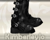 Aviator Boots In Black F