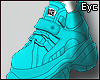 E. Mysterious.. Shoes!