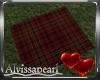 Valentine Rain Rug w/p